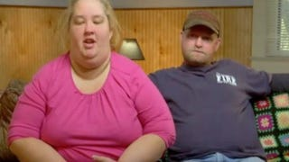 "June Shannon and Mike Thompson of the popular show Here Comes Honey Boo Boo, and self-proclaimed ""rednecks""TLC screenshot"
