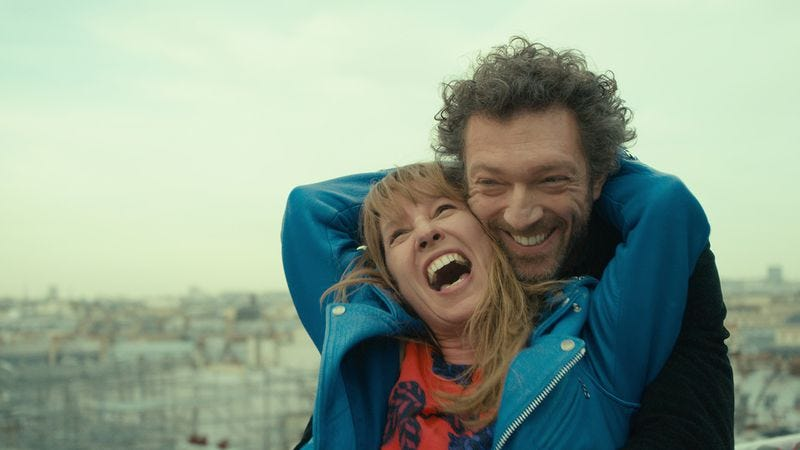Emmanuelle Bercot, Vincent Cassel (Photo: Film Movement)