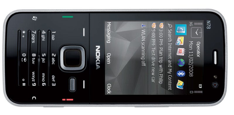 Illustration for article titled Nokia N78 Released in the US