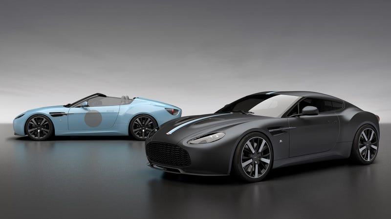 The Aston Martin Vantage V12 Zagato Is Back