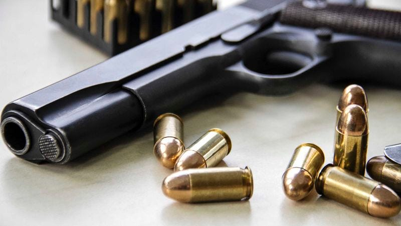Illustration for article titled New Law Determines Bullets No Longer Responsibility Of Owner Once Fired From Gun