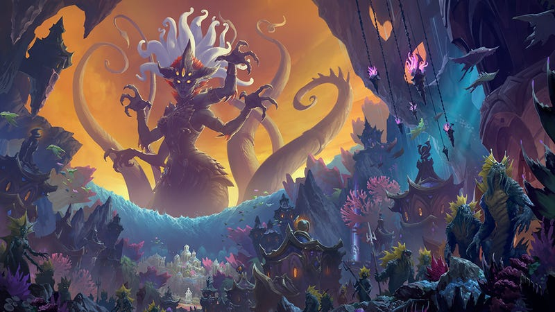 World Of Warcraft's Rize Of Azshara Update Is Live And There's So Much To Do