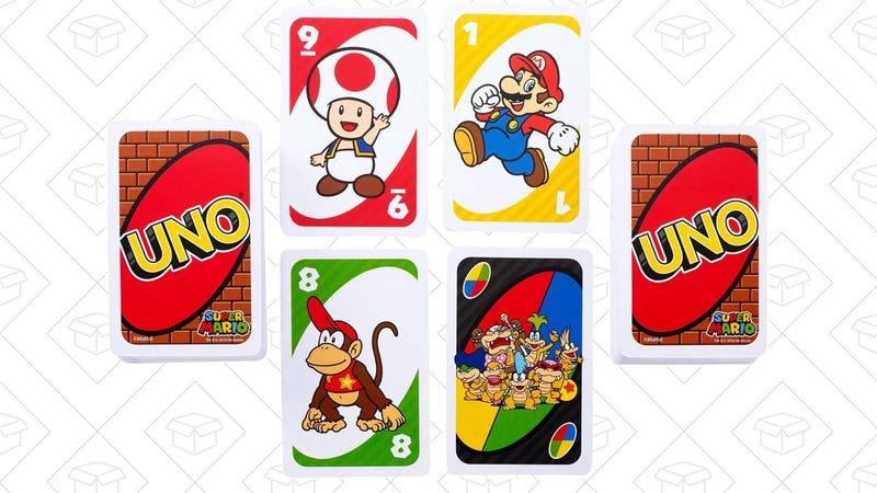 UNO Super Mario Game, $6