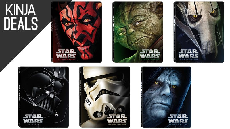 Illustration for article titled Today's Best Media Deals: Star Wars Steelbooks, Story Bundle, and More