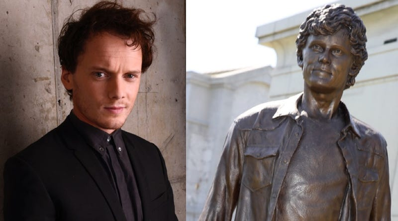 "Anton Yelchin (Larry Busacca/Getty Images) and ""Anton Yelchin"" (David Livingston/Getty Images)"