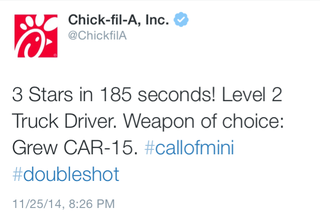 Illustration for article titled Chick-Fil-A Is Either On A Homicidal Rampage Or Bad At Twitter
