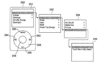 Illustration for article titled iPod Audio Navigation Patent