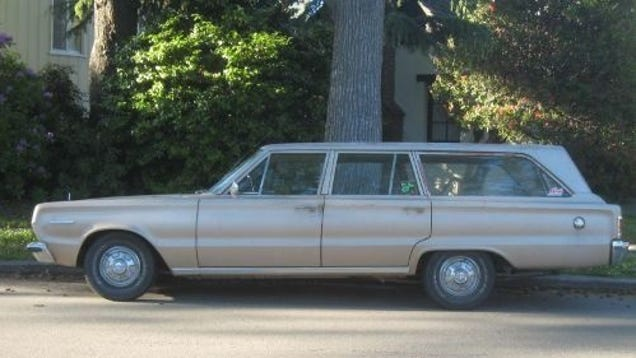 1967 plymouth belvedere i station wagon for Garage ad buc