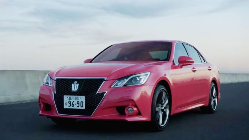 Illustration for article titled Toyota's Pink Grandpa Car Is Surprisingly Awesome