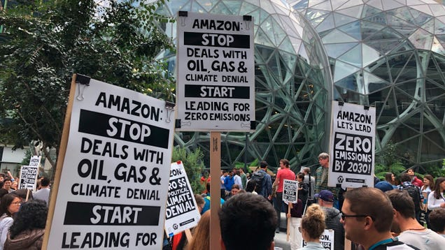 Amazon Can't Just Change Its Rules to Squash Activism, NLRB Finding Suggests