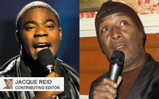 Tracy Morgan; Paul Mooney (Getty Images)