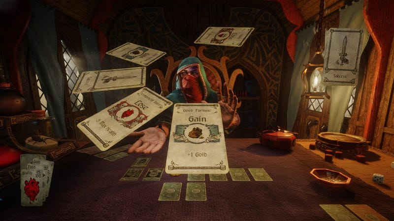 Illustration for article titled Hidden Gem Hand of Fate Gets A Sequel Early Next Year