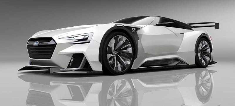 Illustration for article titled The Subaru Viziv GT Vision Concept Is Hot But It Needs Moar Rally Car