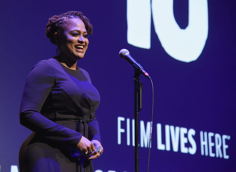 Director Ava DuVernay speaks at the 54th New York Film Festival Opening Night Gala Presentation and 13th world premiere Sept. 30, 2016, in New York City.Theo Wargo/Getty Images