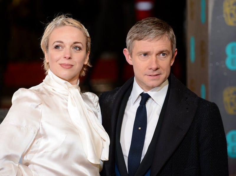 Illustration for article titled Could Martin Freeman's girlfriend become John Watson's wife?