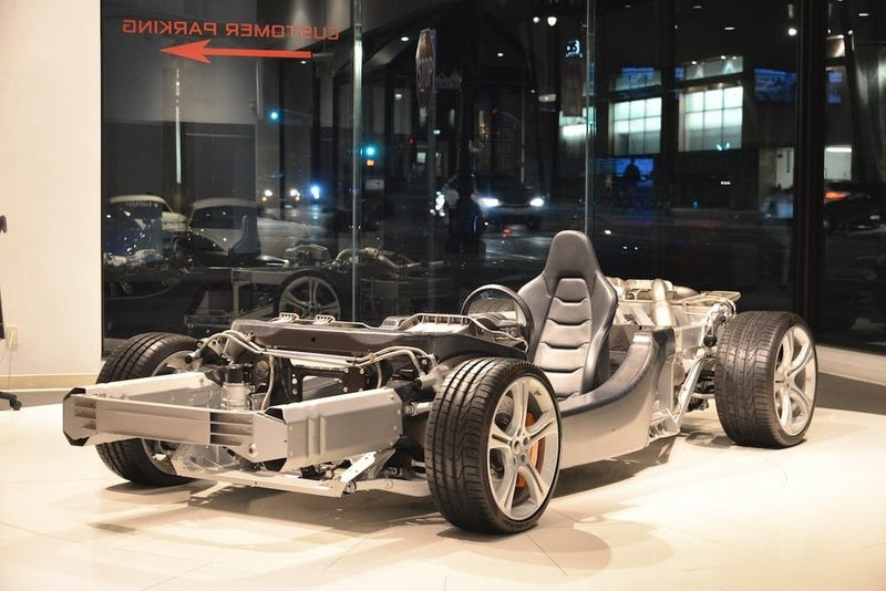 Illustration for article titled McLaren MP4-12C Rolling Chassis for Just $24,880