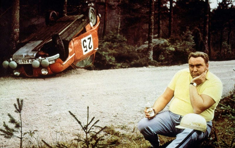 Illustration for article titled Erik Carlsson, Saab rally driver, passes away at 86