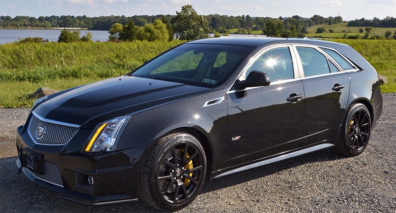 Cadillac Cts V Wagon For Sale >> Here S What A Perfect Cadillac Cts V Wagon Is Worth Now