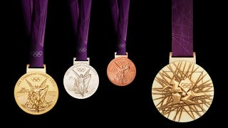Illustration for article titled London's Olympics Medals Are the Heaviest Bling Yet