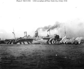 Illustration for article titled When Ships Used To Be Painted In Zebra Stripes, For Stealth
