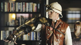 Illustration for article titled Buy Nathan Fillion's steampunk cybernetic arm from Castle