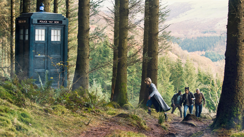 The Doctor and her friends are skipping Christmas this year.