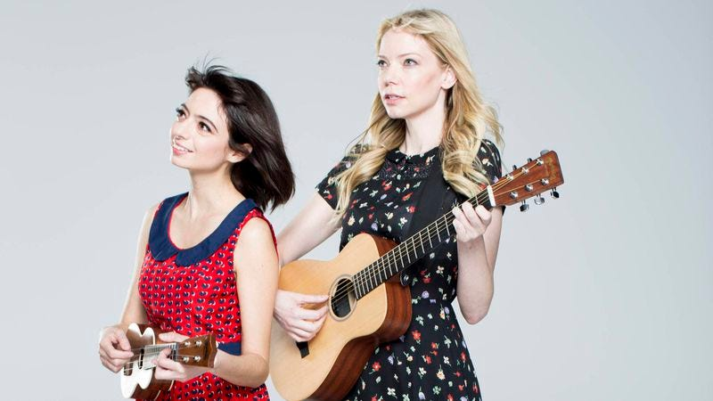 Illustration for article titled Garfunkel And Oates' Riki Lindhome and Kate Micucci answer our 11 questions