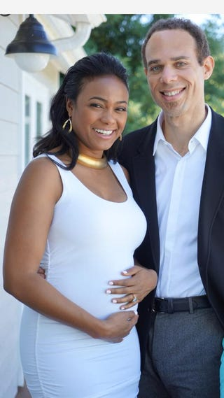 Tatyana Ali and Vaughn RasberryFacebook