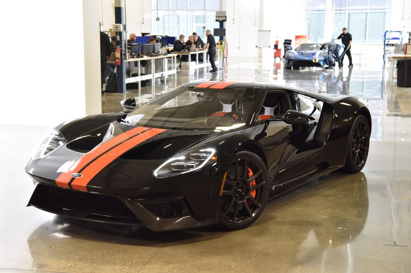 Ford Gt Job  Finally Here For Mere Mortals To Drive Photo Credit Ford