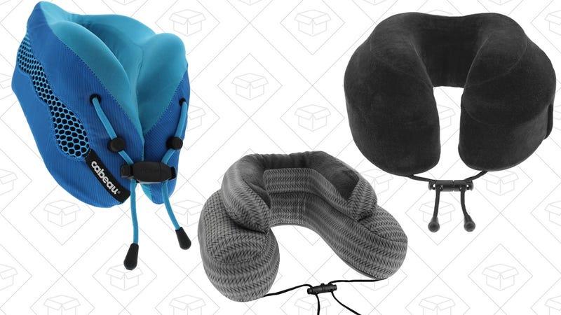 Cabeau Evolution Travel Pillow | $32 | AmazonCabeau Evolution Cool | $48 | AmazonCabeau Evo Microbead Pillow | $16 | Amazon