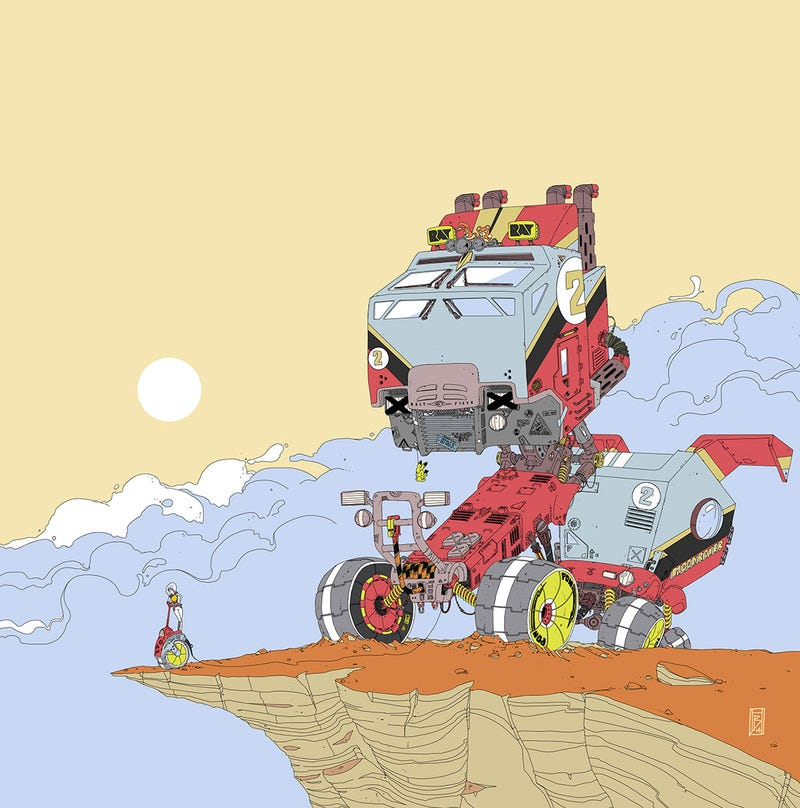Illustration for article titled Optimus...Is That You? What Has Moebius Done To You?