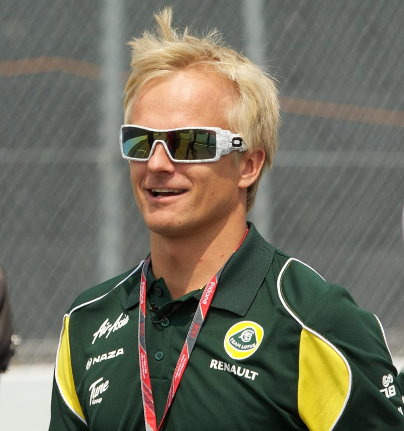Illustration for article titled Kovalainen likely to fill Kimi's seat in final two races