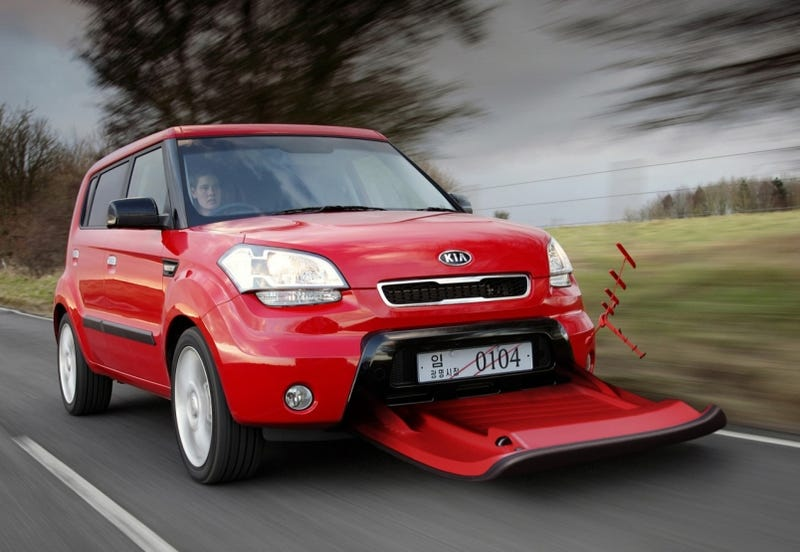 Illustration for article titled Kia Aero-Soul Concept: When April Fool's Day Goes Too Far