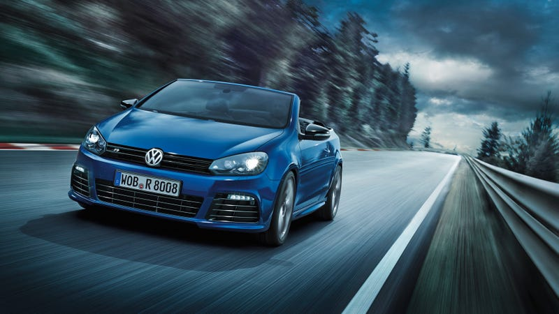 Illustration for article titled 2014 Volkswagen Golf R Cabriolet: The Drop Top Hot Hatch That Isn't For America