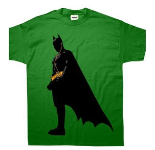 Illustration for article titled There Is Much Wrong With This Batman iPod Shirt