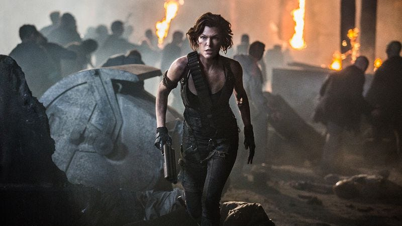 The Final Chapter is a weak retread of Resident Evil's greatest hits