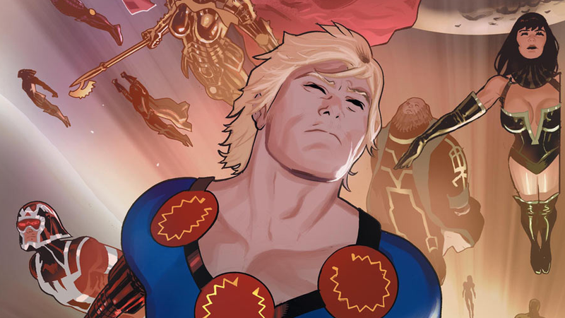 The cover of Eternals #1.