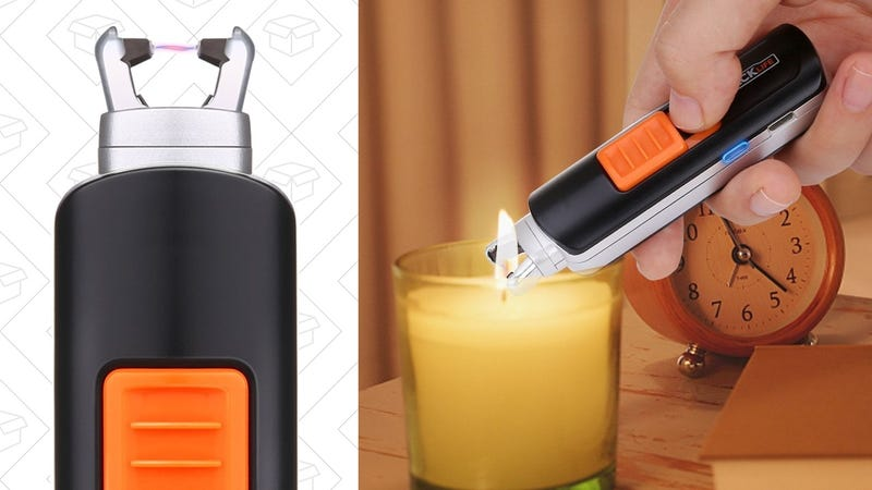 Tacklife ELY03 Electric Arc Lighter | $10 | Amazon | Use code 8WBYZBHY