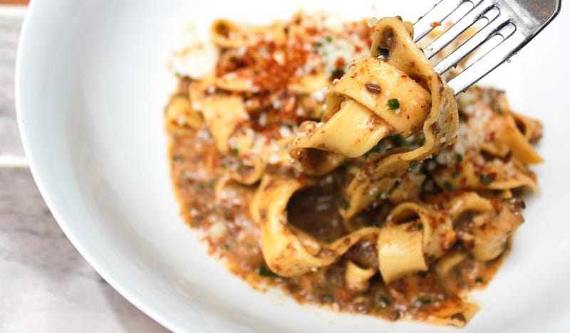 Illustration for article titled This mushroom bolognese is so rich it made the Fortune 500
