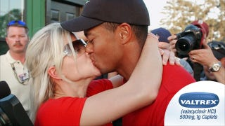 Illustration for article titled The One Where An Ex-Pharmacist Offers Us Proof That Tiger Woods And Elin Have Herpes