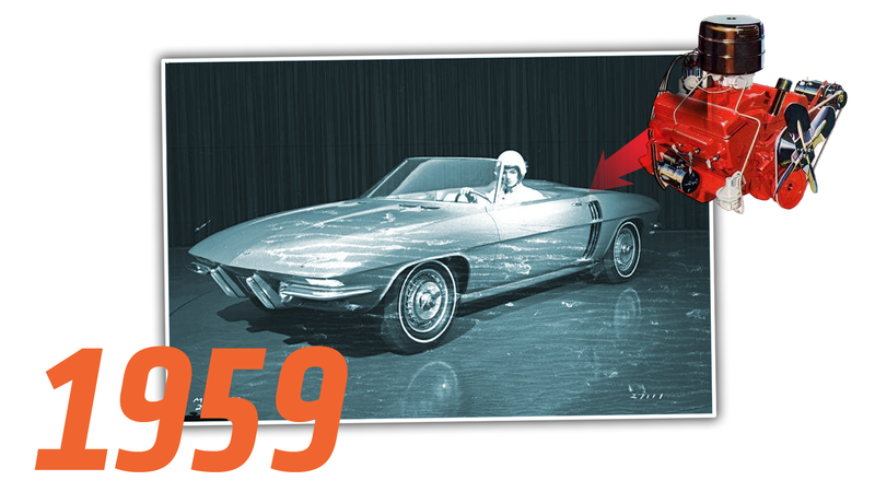 Illustration for article titled There Was An Almost-Forgotten Mid-Engine Corvette Back In 1959