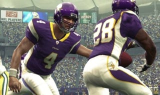 "Illustration for article titled Favre's ""Gunslinger"" Rating In Madden Is Off The Charts"