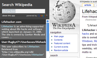 Illustration for article titled Search Wikipedia Faster As-You-Type
