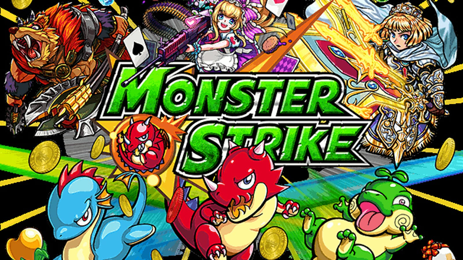monster strike games