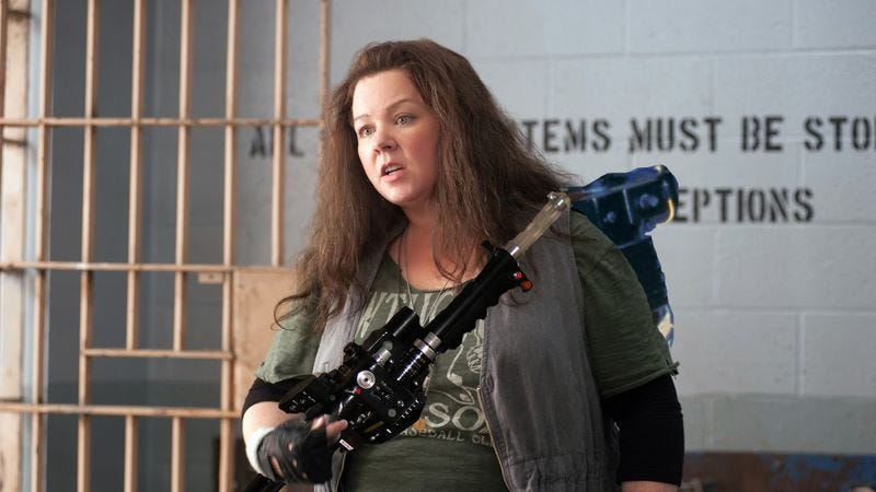 Illustration for article titled Yep, Melissa McCarthy wanted for the lead in Ghostbusters