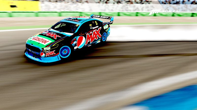 Illustration for article titled TIL; V8 Supercars drift REALLY WELL!