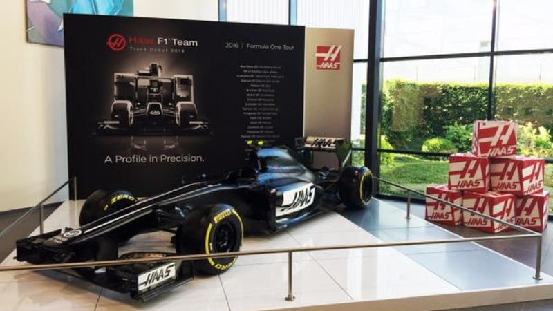 Americas Next Formula One Team Actually Built A Car Update Maybe Not - F1 show car