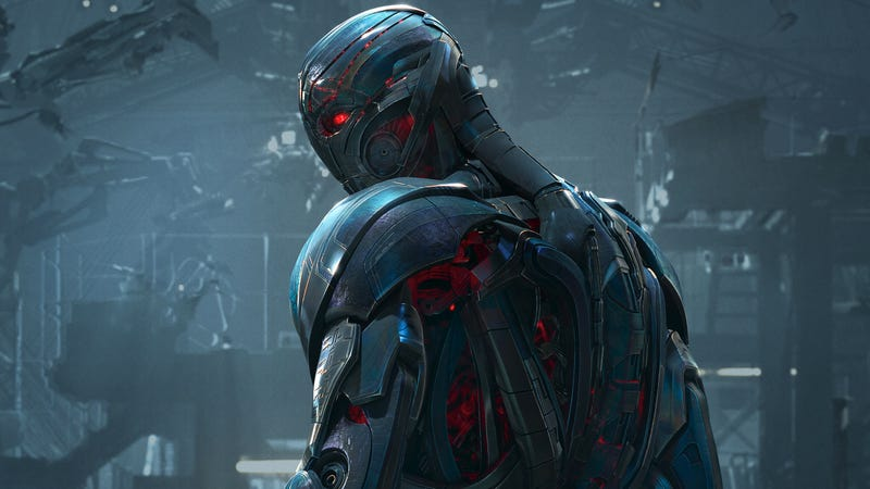 Ultron, a robot with intense daddy issues.