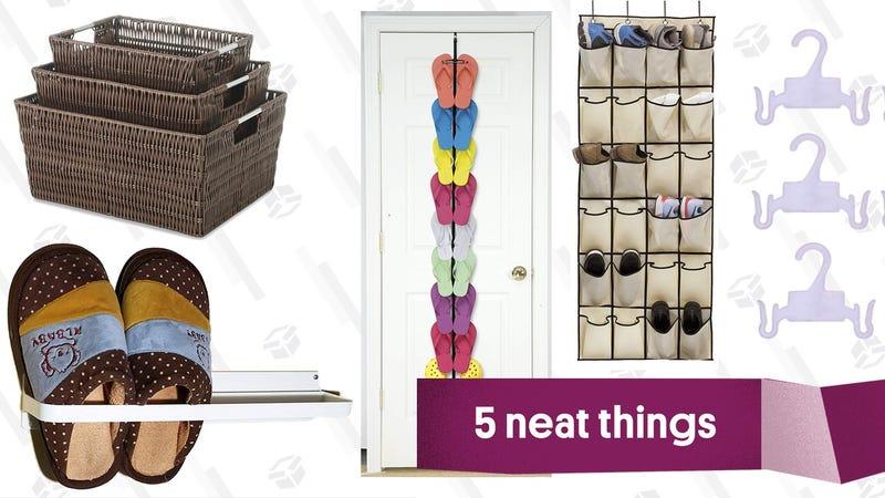Illustration for article titled Five Smart Ways To Store Flip Flops