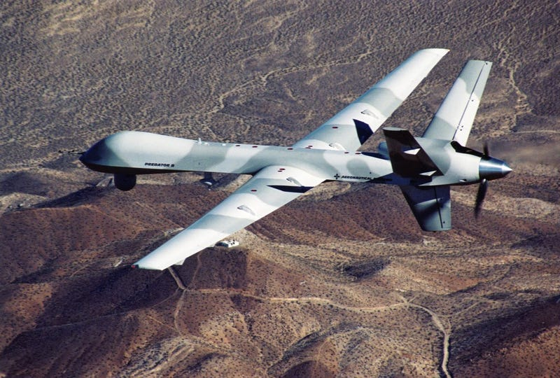 Illustration for article titled US Air Force Crashes Yet Another Drone